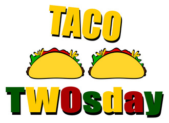 funny taco design