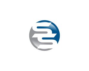 ss letter logo