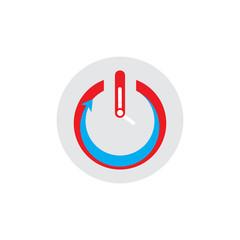 Time Power Logo Icon Design