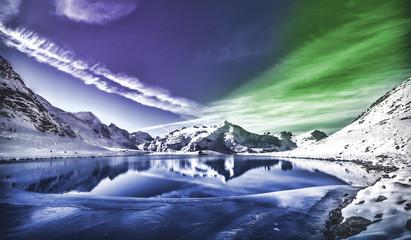 Northern Lights nature