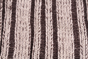 Knitted cloth background