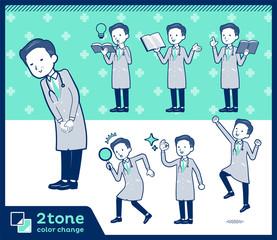 2tone type Doctor old men_set 05