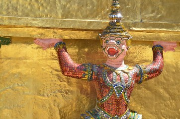 Démon protecteur du palais Royal de Bangkok