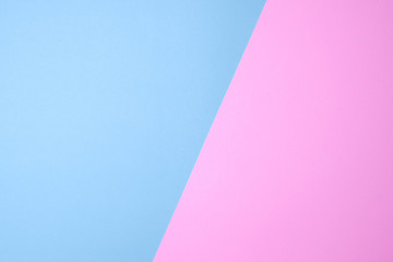 blue and pink or purple pastel paper color for background