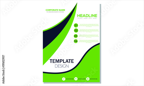 Green Simple Flyer Template\