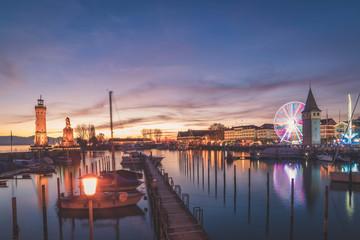 Lindauer Jahrmarkt am Bodensee (Pink)