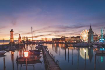 Lindauer Jahrmarkt am Bodensee (Bunt)