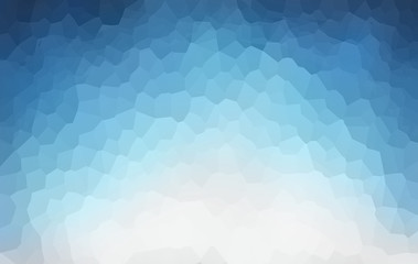 Abstract white to blue gradient background
