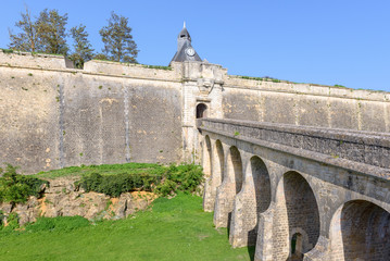 Blaye Citadel, world heritage site in Gironde, France