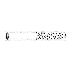 unhealthy bar tobacco cigarette addiction vector illustration sketch design