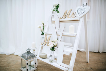 Vintage rustic Weddings wood Decoration