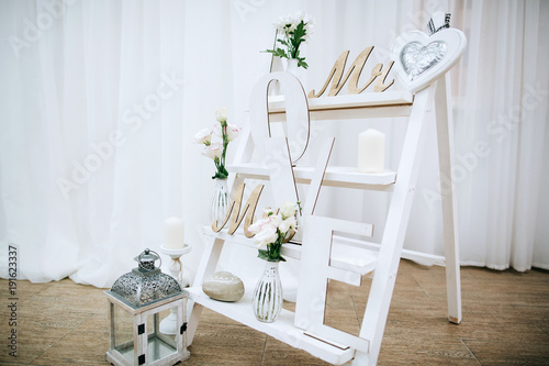 Fotolii Rustice.Vintage Rustic Weddings Wood Decoration Stock Photo And Royalty