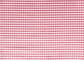 Karo Tischdecken Muster rot weiß