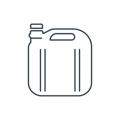 Linear canister icon