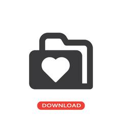 Love folder icon