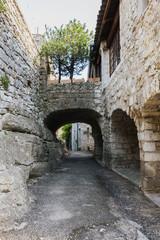 Wall Mural - The street of Balazuc