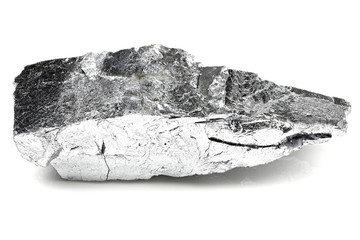 99.9% fine chromium isolated on white background