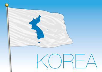 Union of the North and South Korea flag proposal