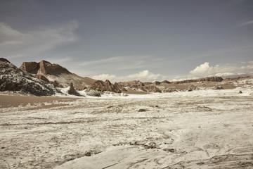 Valle de la Luna Chile Landscape Scenery and Rock Formations