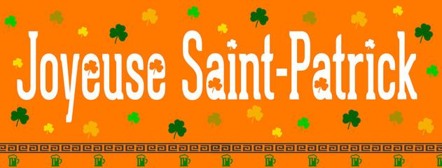 Joyeuse Saint-Patrick