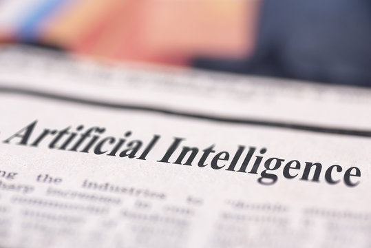 Artificial Intelligence written newspaper