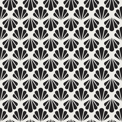Vector Vintage Art Deco Seamless Pattern.