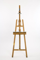Well used artists easel