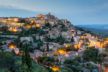 Gordes - charming medieval town near Apt, Provence, France