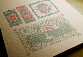 4 Intricate Vintage Layouts 1