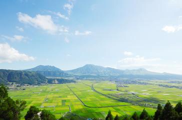 Wall Mural - 阿蘇の風景 阿蘇五岳