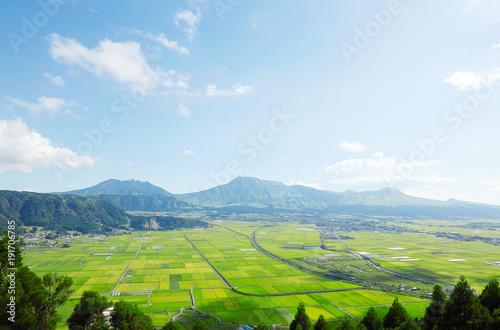 Wall mural 阿蘇の風景 阿蘇五岳