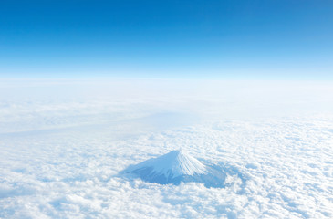 Wall Mural - 富士山 空撮