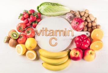 Wall Mural - Vitamin C Rich Foods