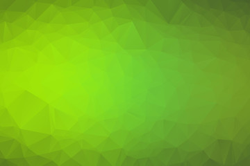 abstract polygon background. Light Green vector polygonal illustration, which consist of triangles. Triangular pattern for your business design. Geometric background in Origami style with gradient.
