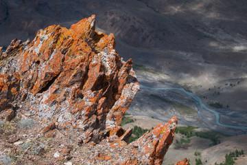 Sharp and dangerous rocks