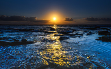Pathway to the Sun - Sunrise Seascape