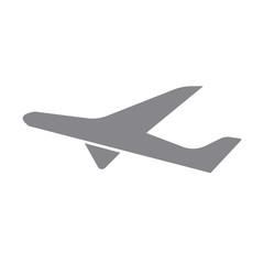 Aircraft  icon. Abstract travel logo with aircraft. Vector image.