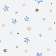 vector abstract seamless background pattern stars
