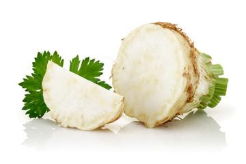 Celeriac, celery