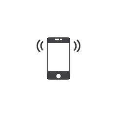 telephone icon. sign design