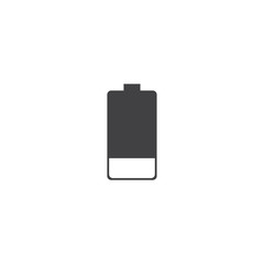 battery icon. sign design
