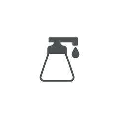 liquid soap icon. sign design