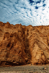 cayon dans le désert