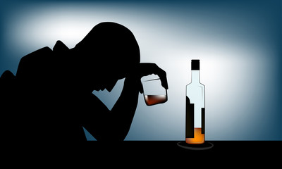 Alcoholism or alcohol use disorder (AUD) is a broad term for any drinking of alcohol that results in mental or physical health problems and affect to daily life.