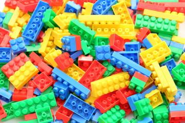 カラフルブロックの背景素材 Colorful block Background