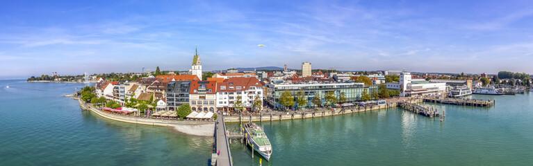 Friedrichshafen, Bodensee, Hafen vom Moleturm