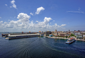 Sierra Maestra Terminal in Havana, Cuba