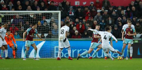 Premier League - Swansea City vs Burnley