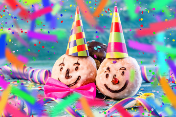 lustige Pfannkuchen party