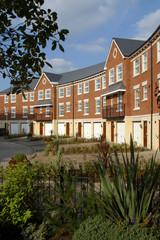 Modern style terrace town house property development